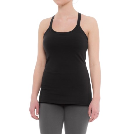 Gaiam Lana Foil Tank Top - Shelf Bra (For Women)