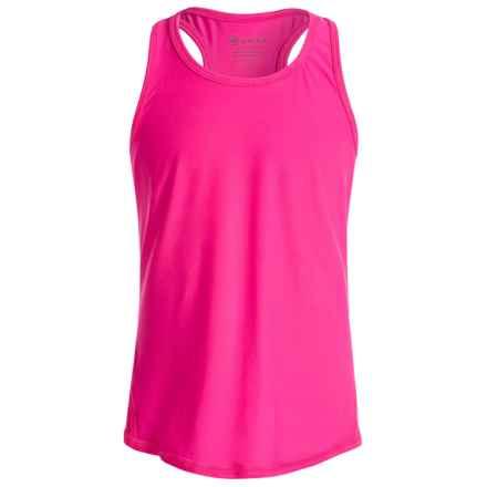 Gaiam Meditate Yoga Tank Top (For Big Girls) in Hot Pink - Closeouts