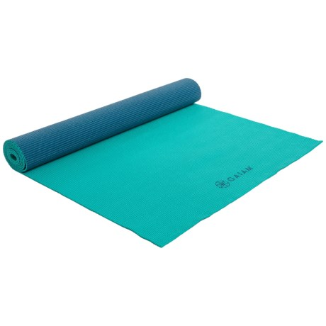 Gaiam nTwo-Color Yoga Mat - 3mm in Open Sea