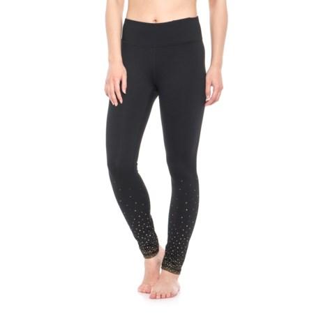 Gaiam Om Dotty Fade Leggings (For Women) in Black