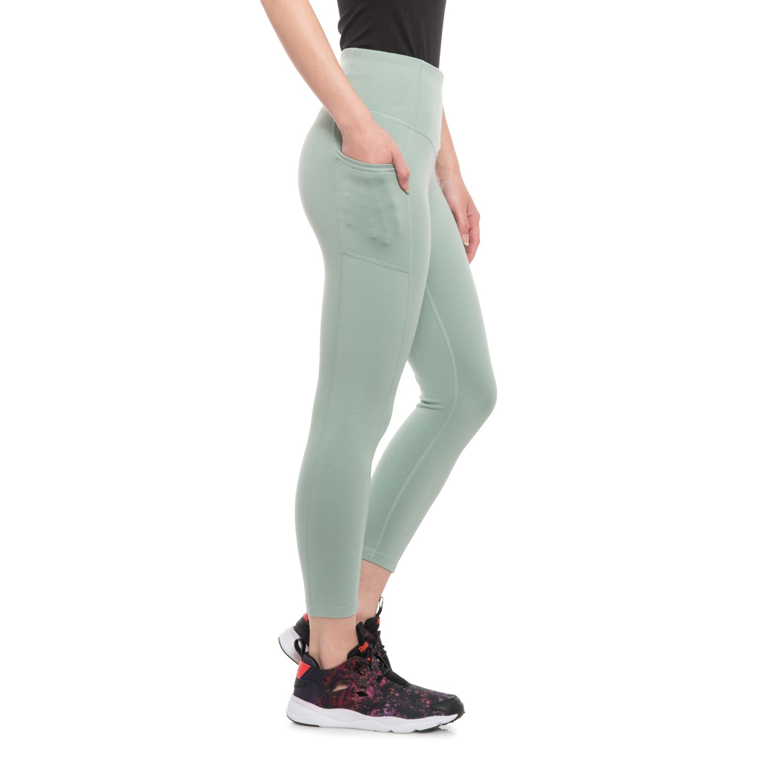 1997174617 Gaiam Om High-Rise Relax Yoga Capris (For Women) - Save 50%