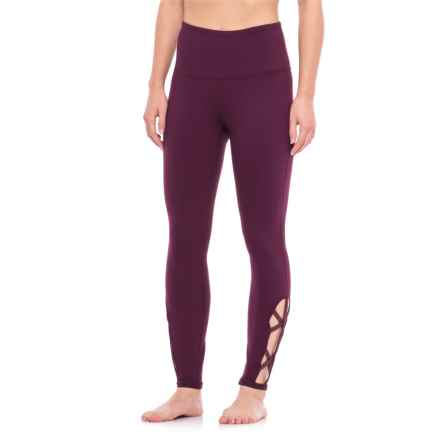 Gaiam Om Lana Foil High-Rise Leggings (For Women) in Pickled Beet - Closeouts