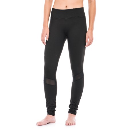 Gaiam Om Luxe Leggings (For Women) in Black (Tap Shoe)