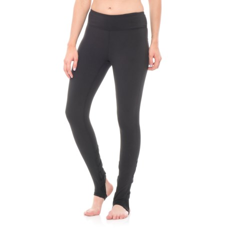 Gaiam Om Willa Strappy Leggings (For Women) in Black (Tap Shoe)