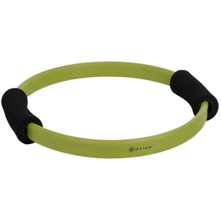 "Gaiam Pilates Toning Ring - 15"" in Green/Black - Closeouts"