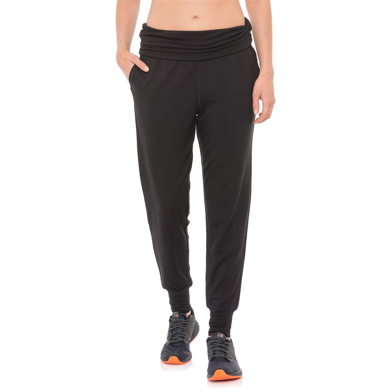 5ff706277cfb4 Gaiam Piper Harem Joggers (For Women) in Black ...