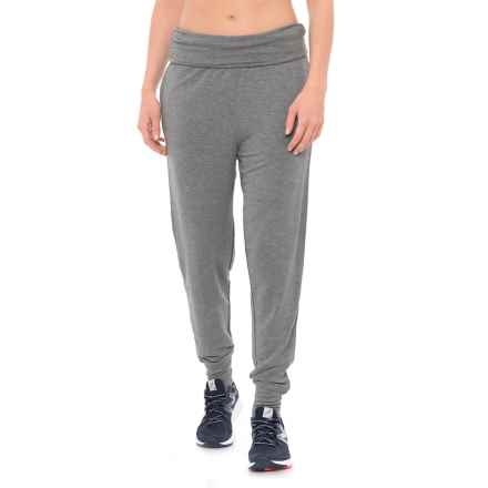 Gaiam Piper Harem Joggers (For Women) in Flint Grey Heather - Closeouts