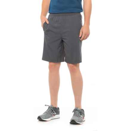 Gaiam Posture Woven Shorts - Built-in Liner (For Men) in Ebony - Closeouts