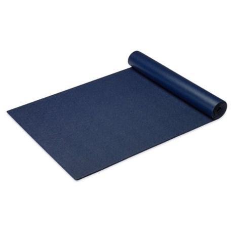 Gaiam Premium Pilates Mat - 5mm in Navy