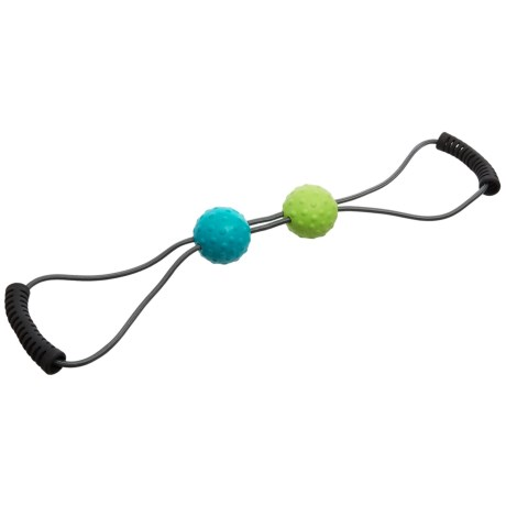 Gaiam Restore Dual Trigger Point Massager in Lime/Blue