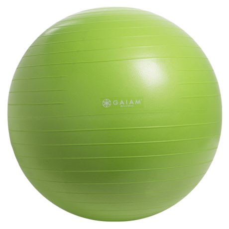 Gaiam Restore Strong Back Stability Ball Kit in Green