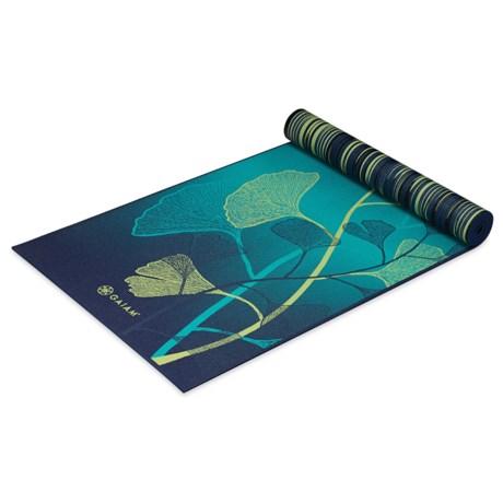Gaiam Reversible Yoga Mat - 6mm in Sheer Vibe