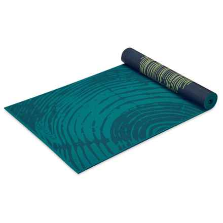 Gaiam Reversible Yoga Mat - 6mm in Vintage Tapestry - Closeouts
