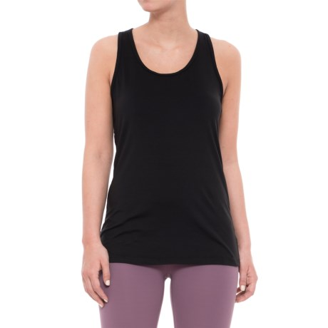Gaiam Stella High-Performance Strappy Tank Top (For Women) in Black W/Cait Print