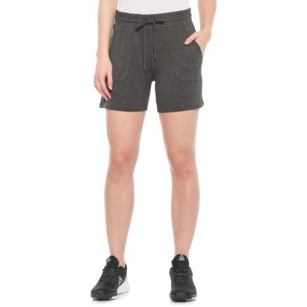 8021389293 Gaiam Warrior Shorts (For Women) in Charcoal Heather