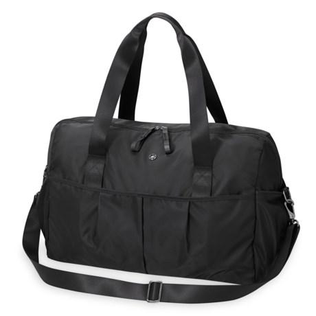 Gaiam Warrior Weekender Duffel Bag in Black