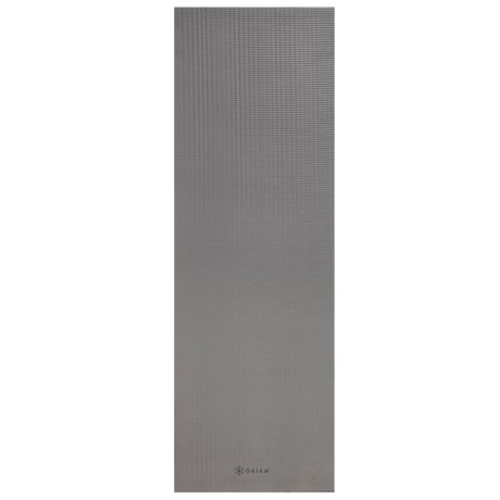 Gaiam Wellbeing Fitness Mat - 15mm in Grey