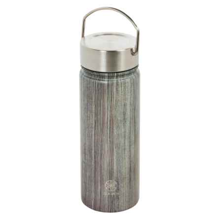 Gaiam Wide-Mouth Water Bottle - BPA-Free Stainless Steel, 18 fl.oz. in Woodland - Closeouts