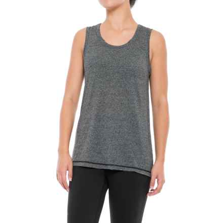 Gaiam Willa Tank Top (For Women) in Black Heather (Tap Shoe) - Closeouts