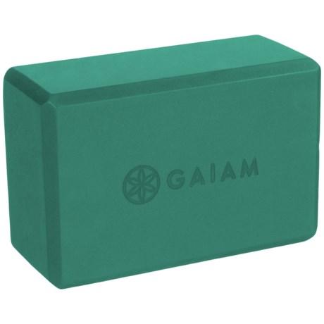 """Gaiam Yoga Block - 9x6x4"""""""