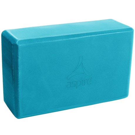 Gaiam Yoga Block in Vivid Blue