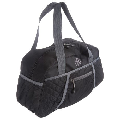 Gaiam Yoga Duffel Bag in Black/Grey