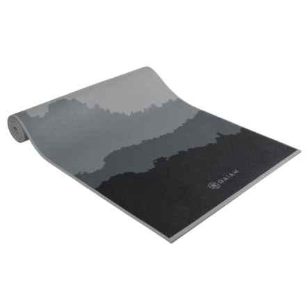 Gaiam Yoga Mat - 5mm in Granite Mountains - Closeouts