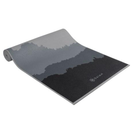 Gaiam Yoga Mat - 5mm in Granite Mountains
