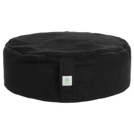 Gaiam Zafu Meditation Cushion in Black - Closeouts