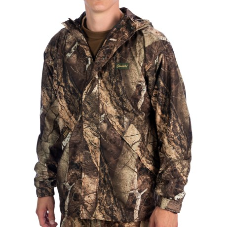 Gamehide Journey Hush Hide® Jacket - Waterproof (For Men) in Naked North Camo
