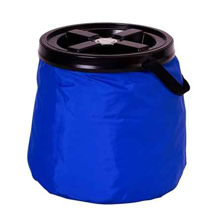 Gamma2 Soft Store Collapsible Pet Food Container - 30+ lb. in Blue - Overstock