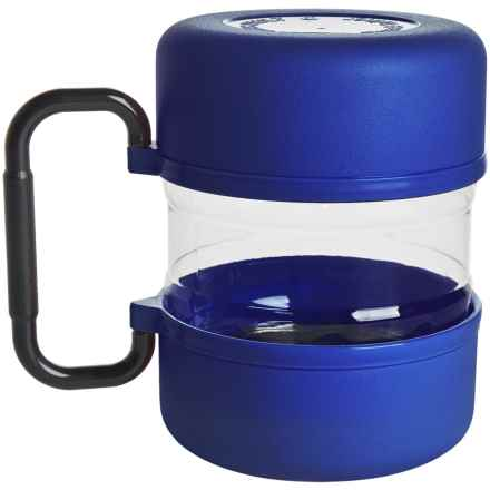 Gamma2 Travel-Tainer Pet Food Travel Container in Blue - Overstock