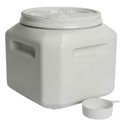 Gamma2 Vittles Vault Outback Pet Food Storage Container - 30+ lb. in Grey - Overstock