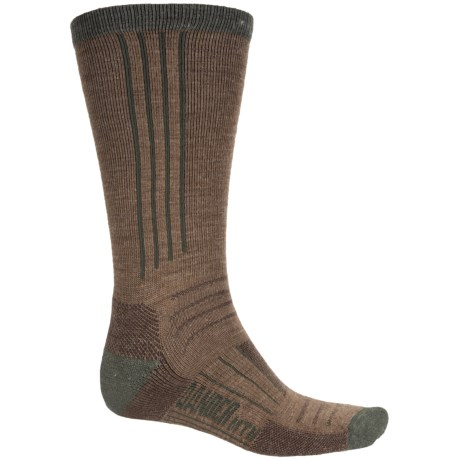 GANDER MTN Ultimate Hiking Socks - Merino Wool, Crew (For Men and Women) in Brown
