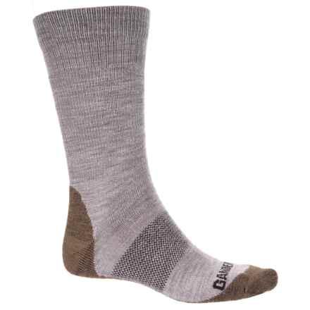 GANDER MTN Ultimate Hiking Socks - Merino Wool, Crew (For Men and Women) in Tan - Closeouts