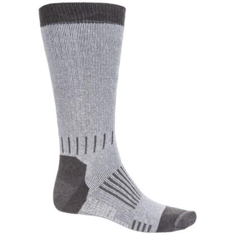GANDER MTN Ultimate Hunting Socks - Merino Wool, Mid Calf (For Men and Women) in Grey