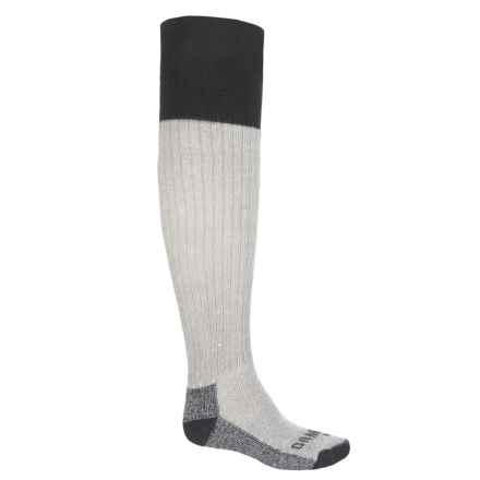GANDER MTN Wader Heavyweight Socks - Merino Wool, Over the Calf (For Men) in Grey - Closeouts