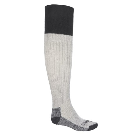 GANDER MTN Wader Heavyweight Socks - Merino Wool, Over the Calf (For Men) in Grey