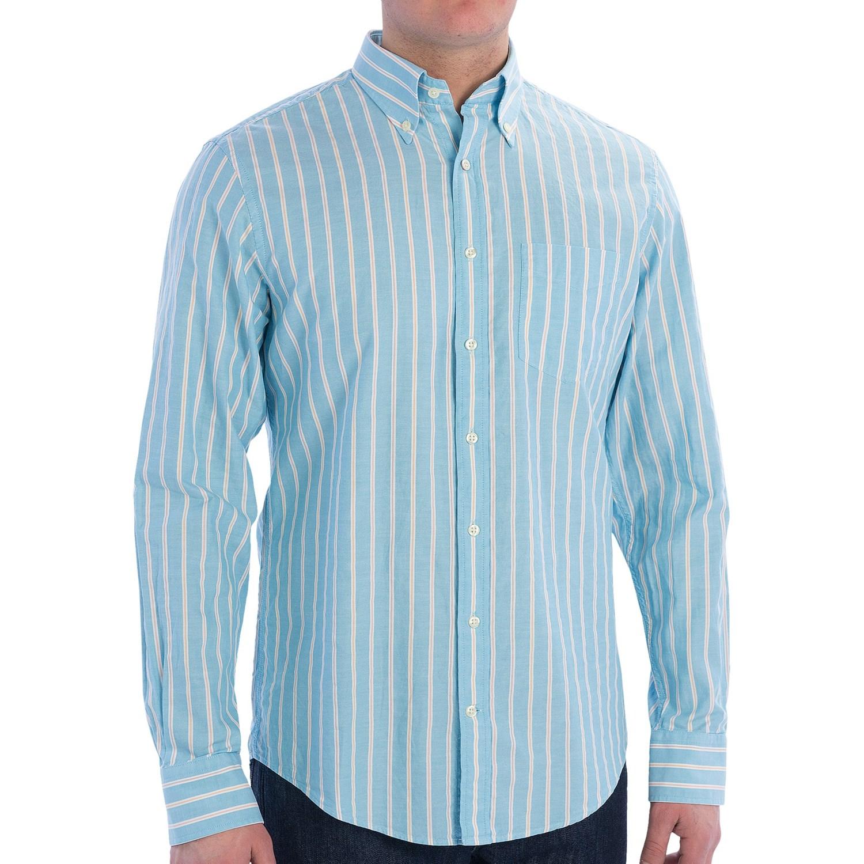 Gant P N Summer Oxford Shirt Button Down Collar Long