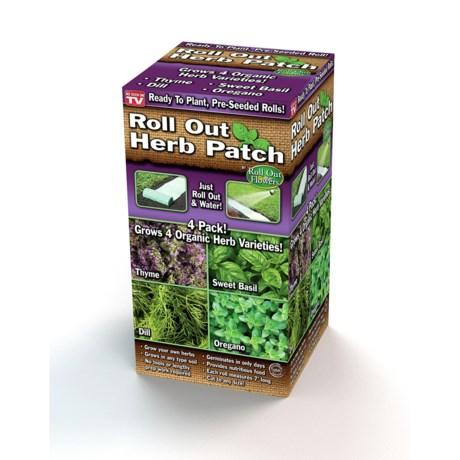 Garden Innovations Organic Herb Patch in Asst