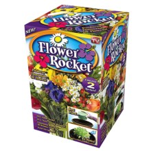 Garden Innovations Pre-Seeded Flower Rocket in See Photo - Closeouts