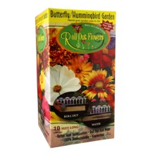 Garden Innovations Roll Out Flower Garden in Butterfly/Humming Bird - Closeouts