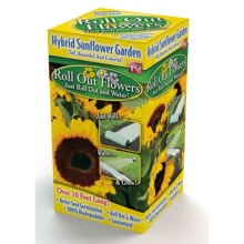 Garden Innovations Roll Out Flower Garden in Hybrid Sunflower - Closeouts