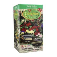 Garden Innovations Roll Out Flower Garden in Shady Garden - Closeouts