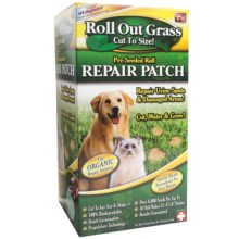 Garden Innovations Roll-Out Pre-Seeded Grass Repair Patch in See Photo - Closeouts