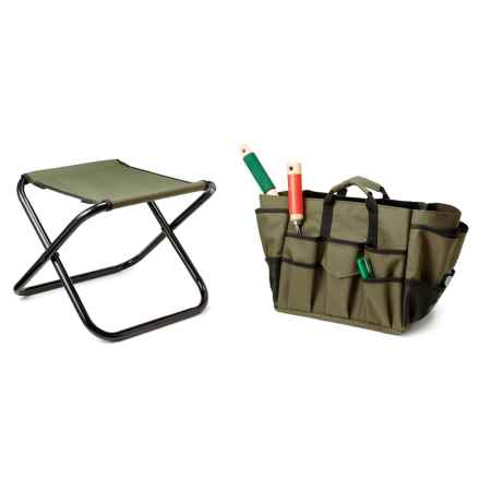 Garden Works Tool Seat in Olive Green - Closeouts