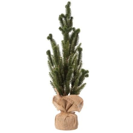 "f4ac842ee06 Majestic Landscape Burlap Lid Box - Medium.  7.99. Compare at  12.00. 0 ·  Gardener s Eden Spruce Pine Tree in Burlap Base - 18"" in Green Natural -"