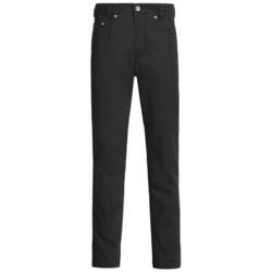 Gardeur Faint Pinstripe Nigel Pants - 5-Pocket (For Men) in Brown