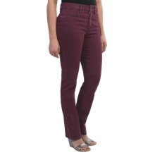 Gardeur Inga Jeans - Slim Fit (For Women) in Burgundy - Closeouts