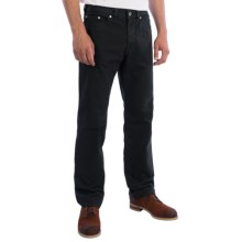 Gardeur Nevio Jeans - Regular Fit, Straight Leg (For Men) in Black - Closeouts